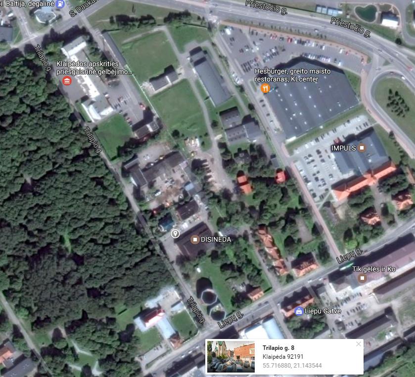 Kontaktai - Kitokia Diena UAB - Stadiono g. 16, LT-92271, Klaipėda